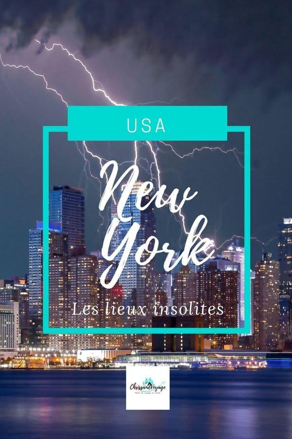 Visite des lieux insolites et secrets de New York