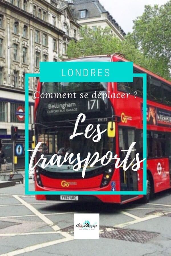 Prendre les bus à Londres