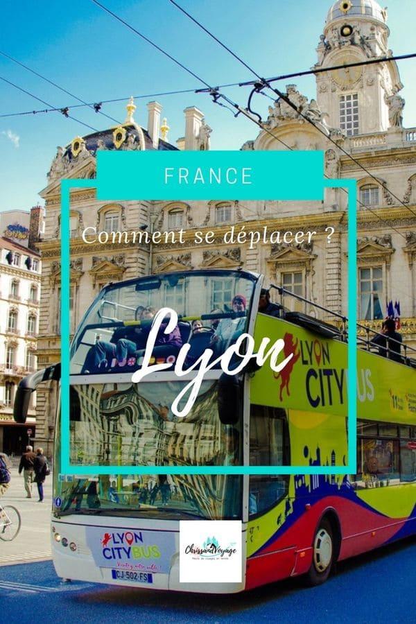 Prendre les transports à Lyon