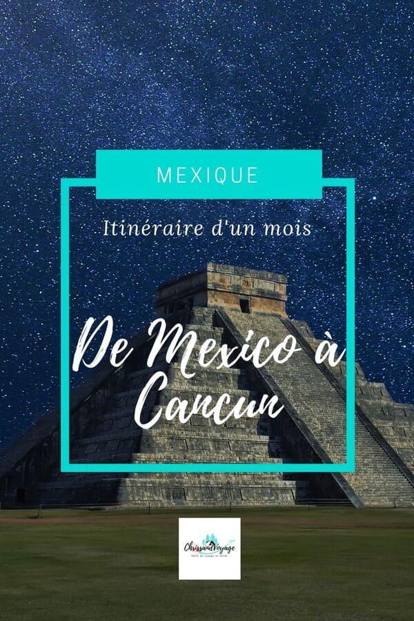 itinéraires au Mexique