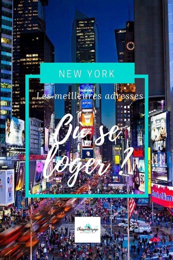 Les meilleures adresses pour se loger à New York