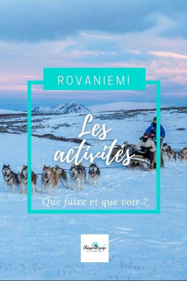 Que visiter à Rovaniemi ?