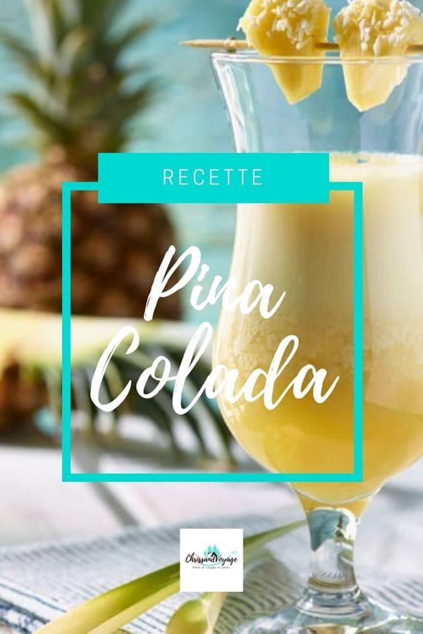 recette cocktail pina colada