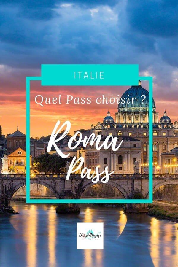 pass visite pour rome