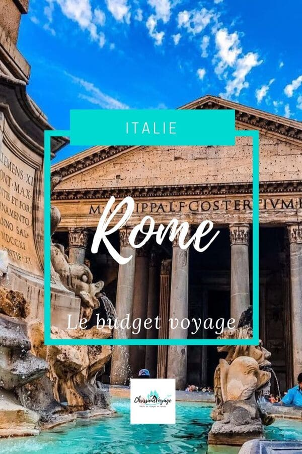 Budget Rome 4 jours