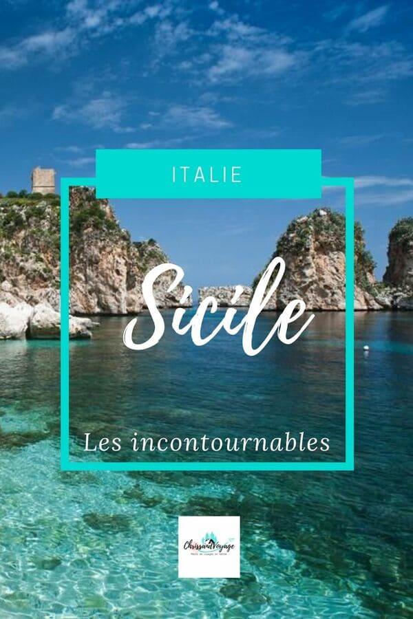 Itinéraires de visites en Sicile.