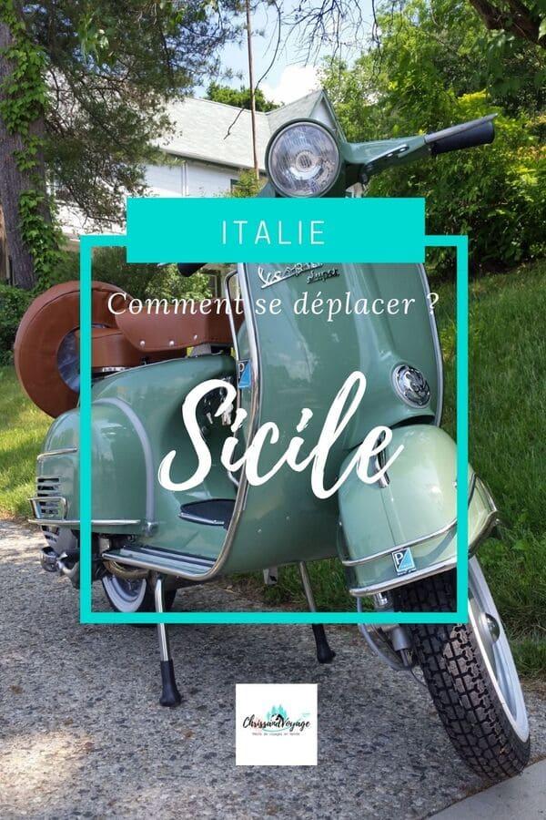 Comment se déplacer en Sicile ?