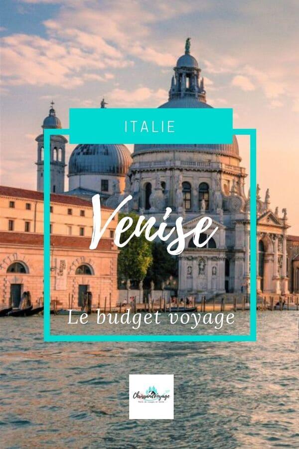 Prix Budget voyage Venise