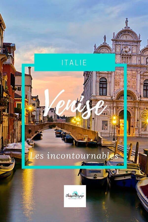 Visite Venise que voir