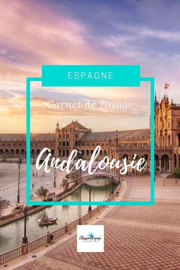 carnet voyage Andalousie