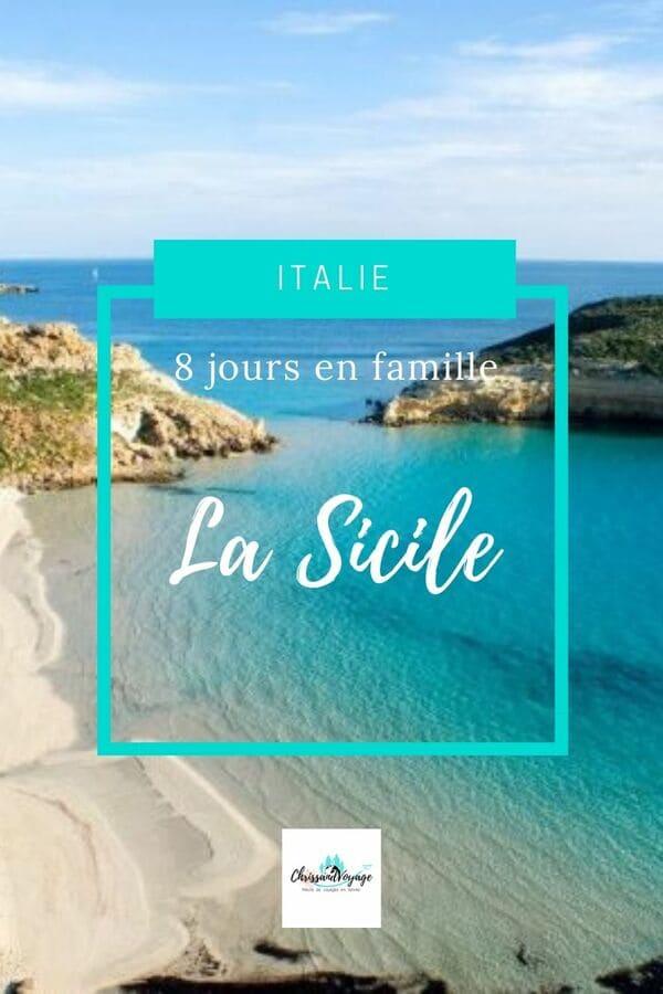 Carnet de voyage en Sicile