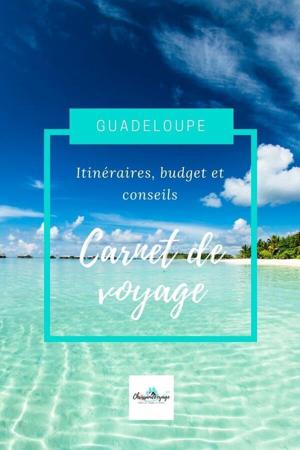 carnet voyage Guadeloupe