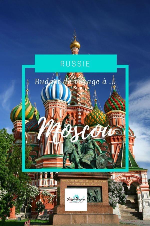 budget à prévoir pour voyage Moscou