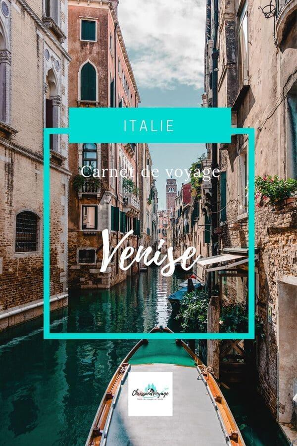 Blog Voyage 4 jours Venise
