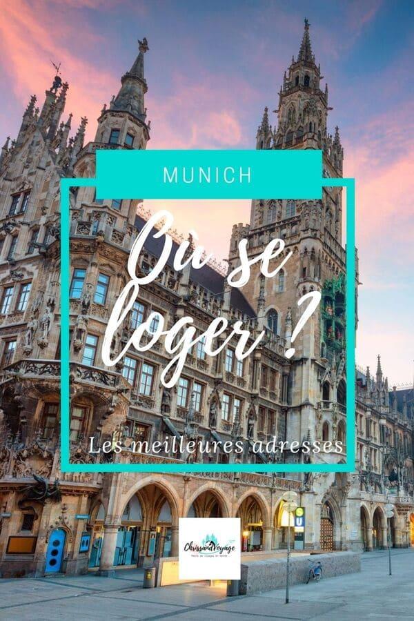 où dormir à Munich