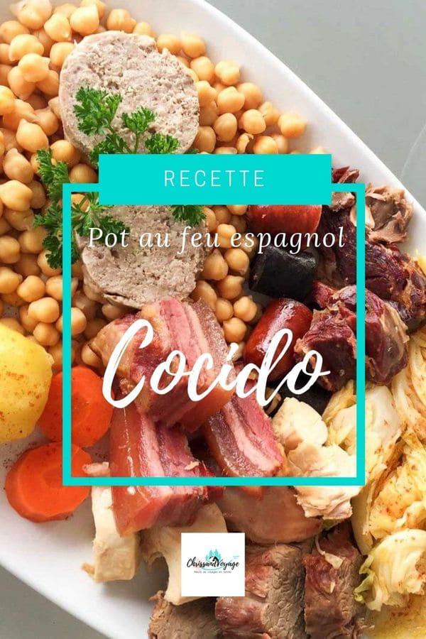 recette cocido espagnol