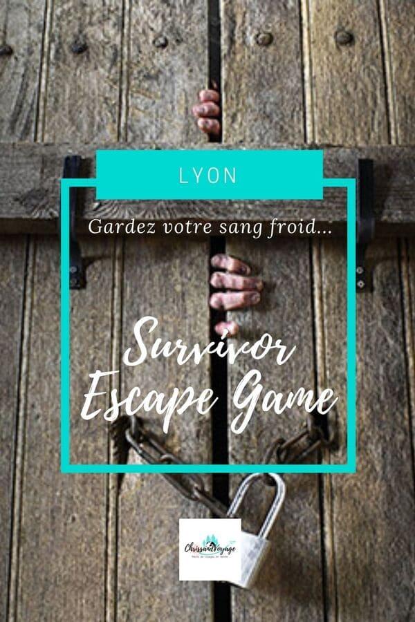 avis escape game horreur Lyon