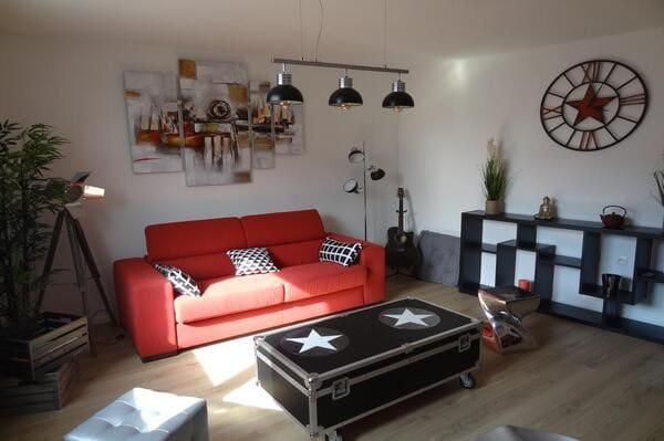 Appartement à Avignon en famille