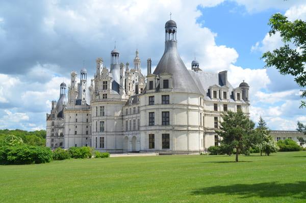 visite chateau de chambord avec des enfants