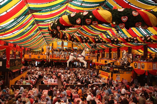 Accès oktoberfest Munich