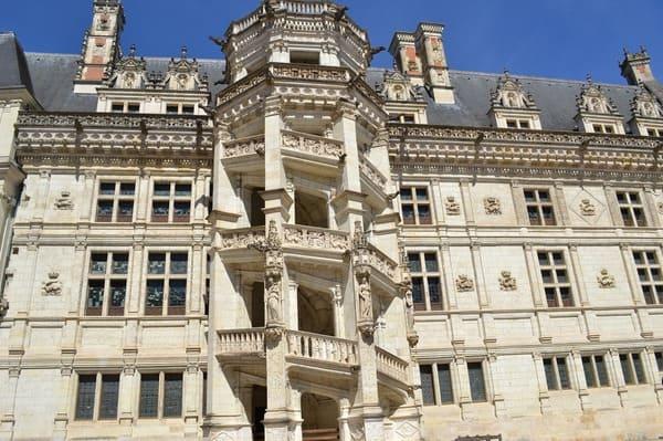 Escalier du chateau de Blois