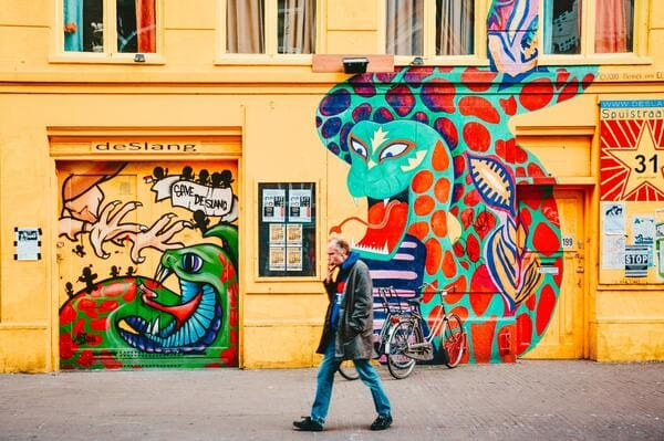 Quartier Street Art à Amsterdam
