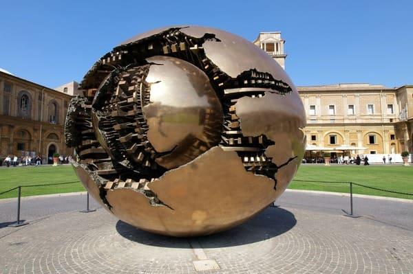 La cour de la Pigna Vatican
