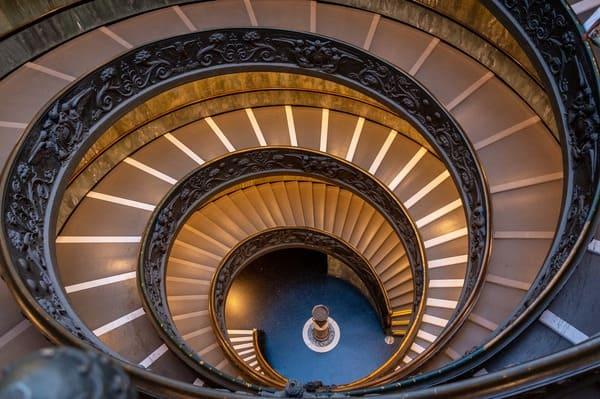Escalier en hélice au Vatican