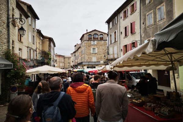 Marché à faire en Ardèche