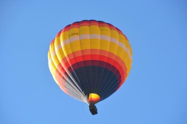 Faire de la montgolfière en Ardèche