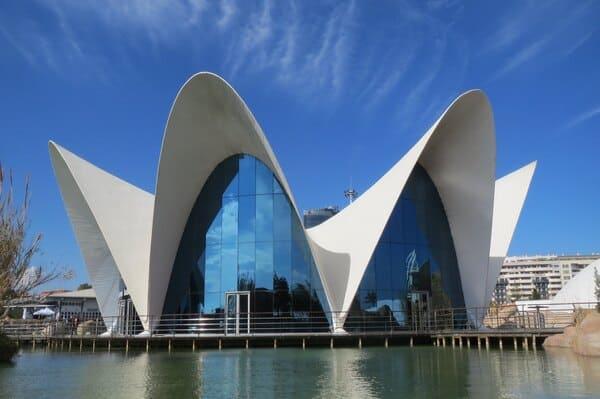 Restaurant aquarium Oceanografic
