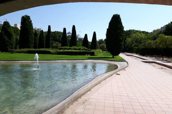 balade à vélo jardins Turia