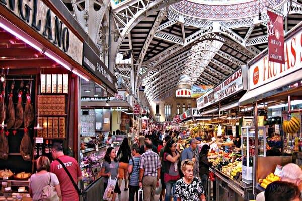 visite du marché central de Valence
