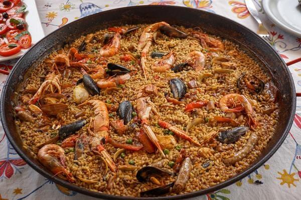 paella de Valencia