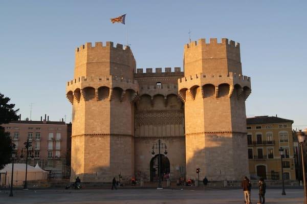 Les tours Serrano de Valence