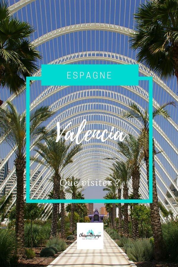 Que visiter et que faire à Valencia ?